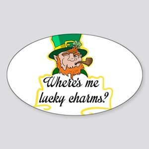 Lucky Charms Sticker (Oval)