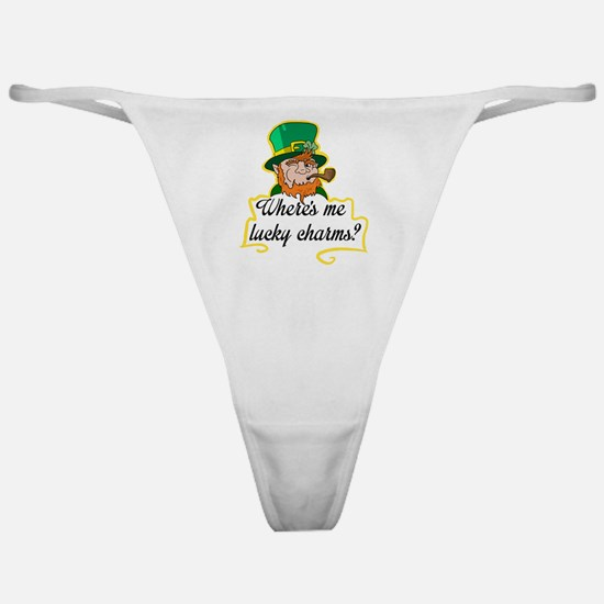 Lucky Charms Classic Thong