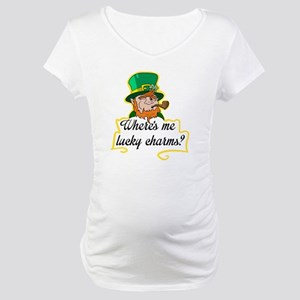 Lucky Charms Maternity T-Shirt