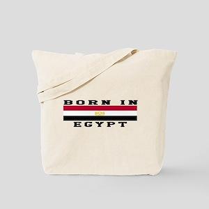 Born In Egypt Tote Bag