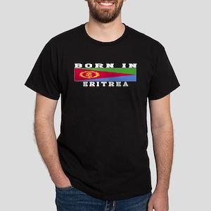 Born In Eritrea Dark T-Shirt