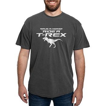 Save a Horse, Ride a T-Rex Mens Comfort Colors Shi