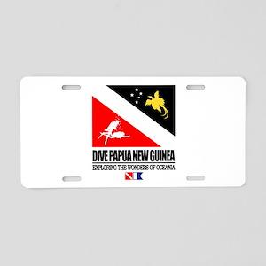 Dive Papua New Guinea Aluminum License Plate