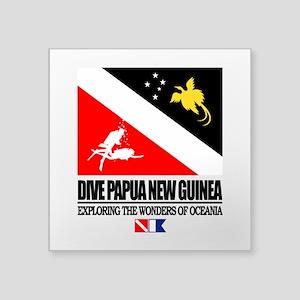 Dive Papua New Guinea Sticker