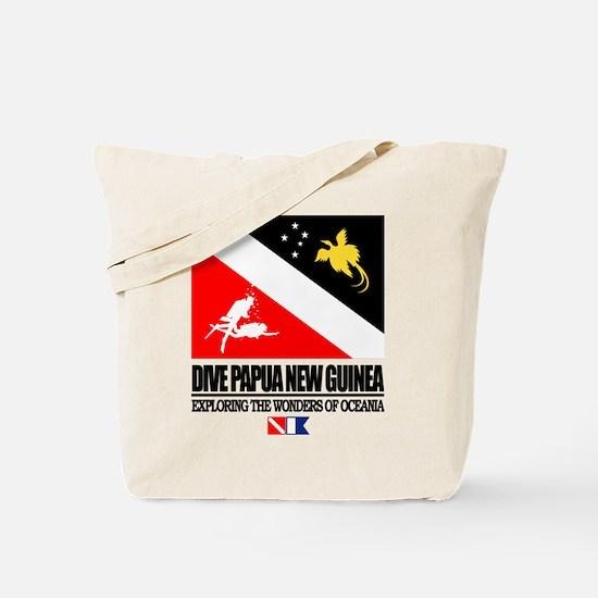 Dive Papua New Guinea Tote Bag