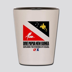 Dive Papua New Guinea Shot Glass