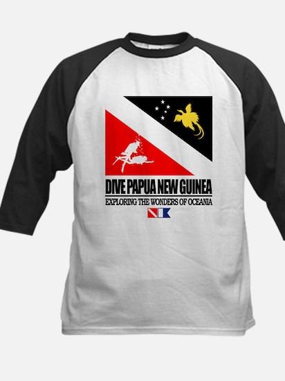 Dive Papua New Guinea Baseball Jersey