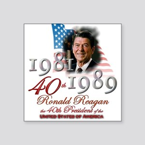 40th President - Sticker
