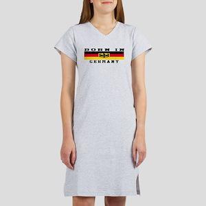 Born In Germany Women's Nightshirt