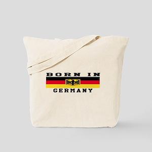 Born In Germany Tote Bag