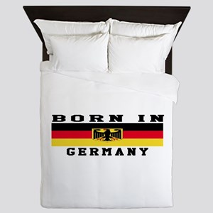 Born In Germany Queen Duvet