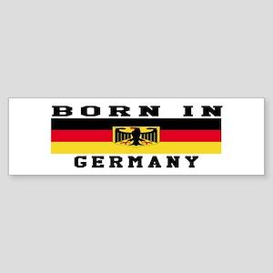 Born In Germany Sticker (Bumper)