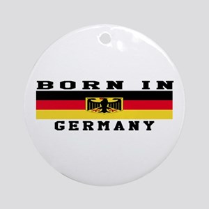 Born In Germany Ornament (Round)
