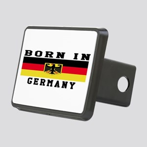 Born In Germany Rectangular Hitch Cover