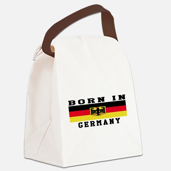 Born In Germany Canvas Lunch Bag