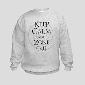 Twilight Zone - Keep Calm Kids Sweatshirt