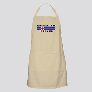 Born In Iceland Apron