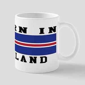 Born In Iceland Mug