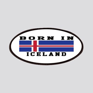 Born In Iceland Patches