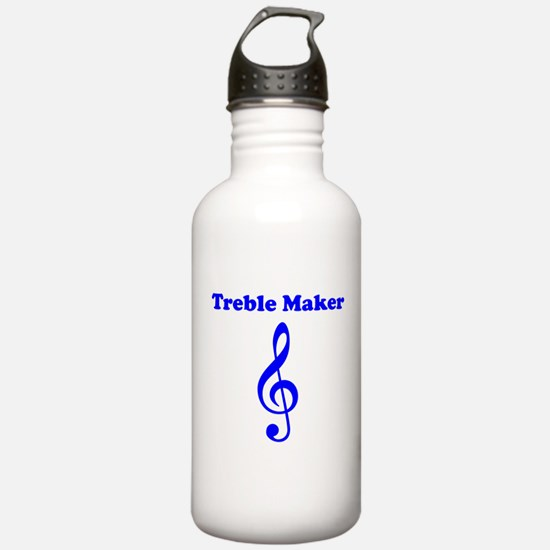 Treble Maker Blue Water Bottle