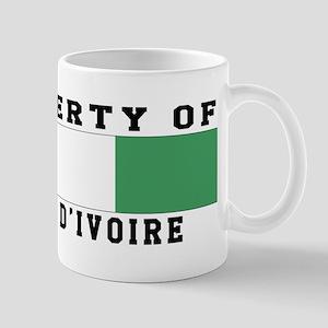 Property Of Cote dIvoire Mug