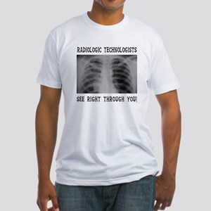 X-Ray Techs Fitted T-Shirt
