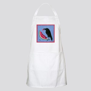 Crow & Watermelon BBQ Apron