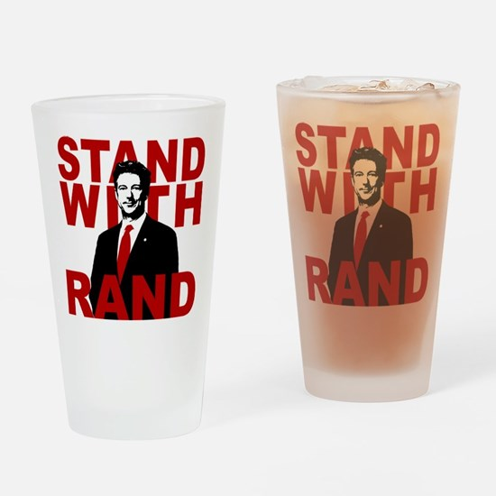 Stand With Rand Drinking Glass