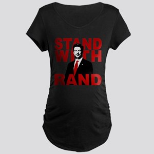 Stand With Rand Maternity Dark T-Shirt