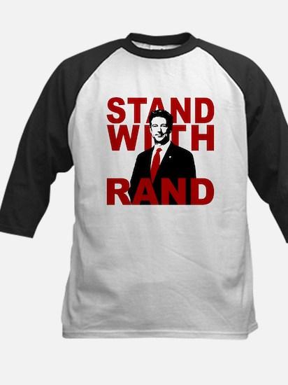 Stand With Rand Kids Baseball Jersey