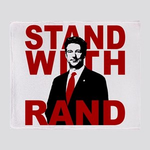 Stand With Rand Throw Blanket