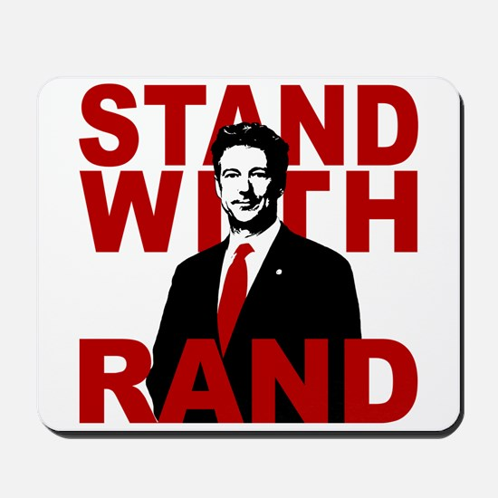 Stand With Rand Mousepad