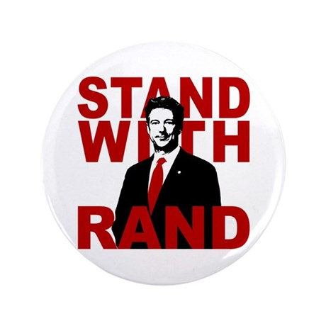"""Stand With Rand 3.5"""" Button (100 pack)"""