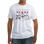 Funny Pins Fitted T-Shirt