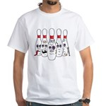 Funny Pins White T-Shirt