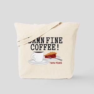 Twin Peaks Damn Fine Coffee Tote Bag