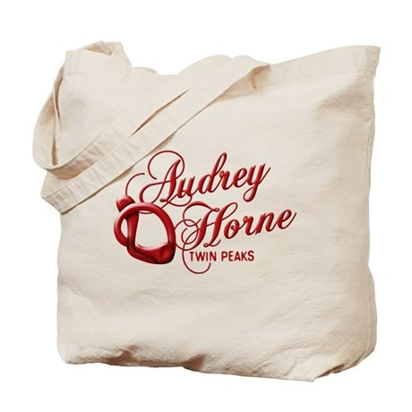 Twin Peaks Audrey Horne Cherry Stem Tote Bag