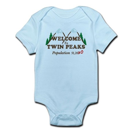 Welcome To Twin Peaks Population Body Suit