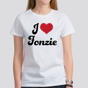 I Love Fonzie Women's T-Shirt