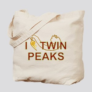 I Love Twin Peaks Locket Tote Bag