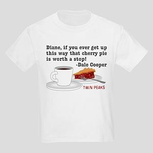 Twin Peaks Diane Cherry Pie Kids Light T-Shirt