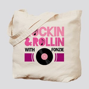 Rock and Roll Fonzie Tote Bag