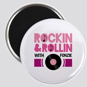 Rock and Roll Fonzie Magnet