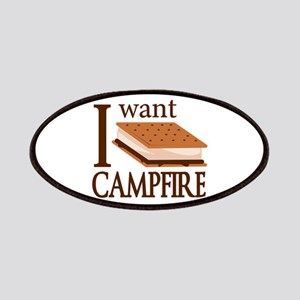 I Want Smore Campfire Patches