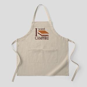 I Want Smore Campfire Apron