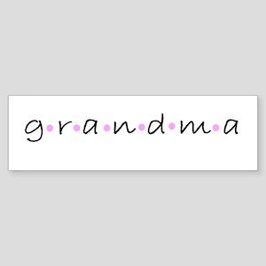 Grandma Bumper Sticker