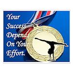 Gymnastics Poster - Success