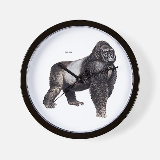 Gorilla Ape Animal Wall Clock