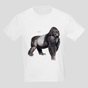 Gorilla Ape Animal Kids Light T-Shirt