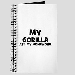 My Gorilla Ate My Homework Journal